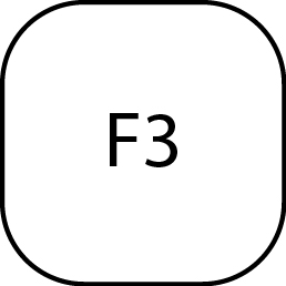CAL3K Keyboard Commands - F3 Key | DDS Calorimeters