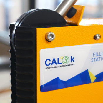 CAL3K Manual Oxygen Filling Station - Improved Robust Handle & Nozzle | DDS Calorimeters