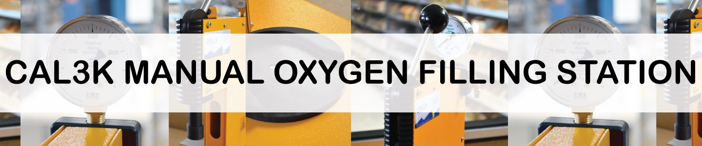 The CAL3K Manual Oxygen Filling Station has a NEW LOOK!