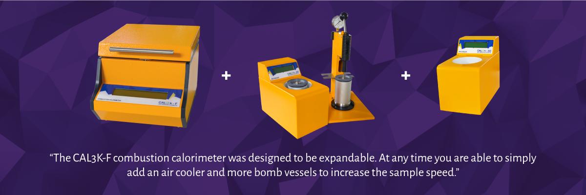 CAL3K-F Oxygen Bomb Calorimeter - Expandability - System Options | DDS Calorimeters