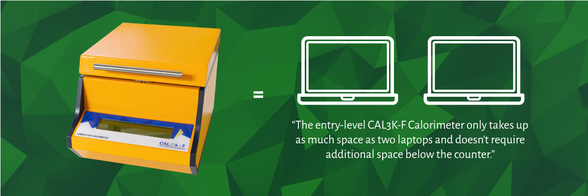 CAL3K-F Oxygen Bomb Calorimeter System - Compact Size and Weight | DDS Calorimeters