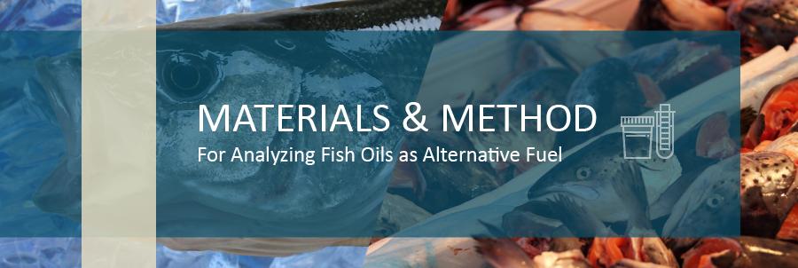 Analyzing Fish Oils as an Alternative Fuel | DDS Calorimeters