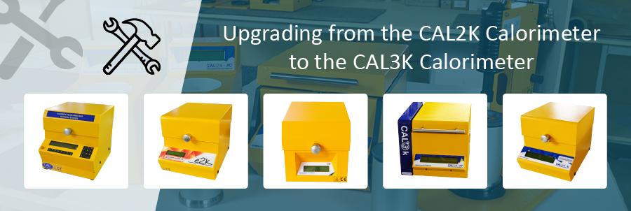 Upgrading from the CAL2K Calorimeters to CAL3K Calorimeters