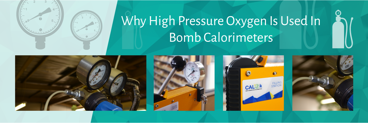 Why High Pressure Oxygen is used in Bomb Calorimeters