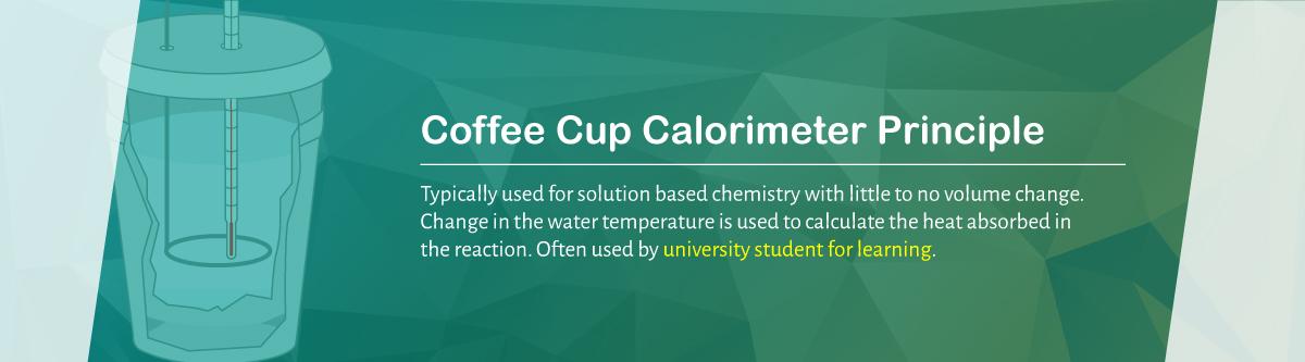 The Coffee Cup Calorimeter Principle | DDS Calorimeters