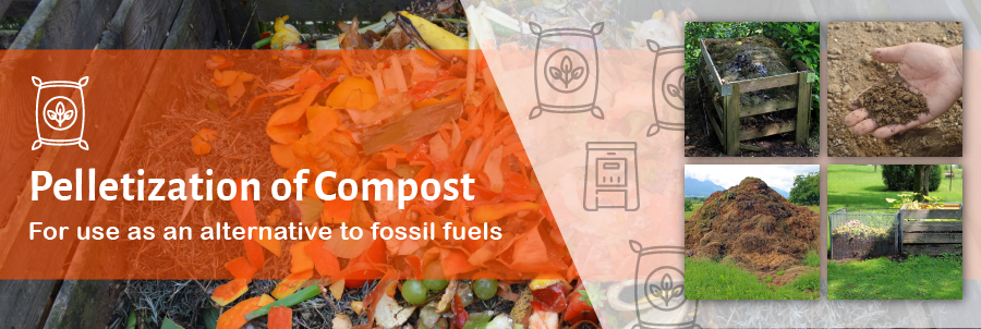 Pelletizing Compost for Energy Utilization