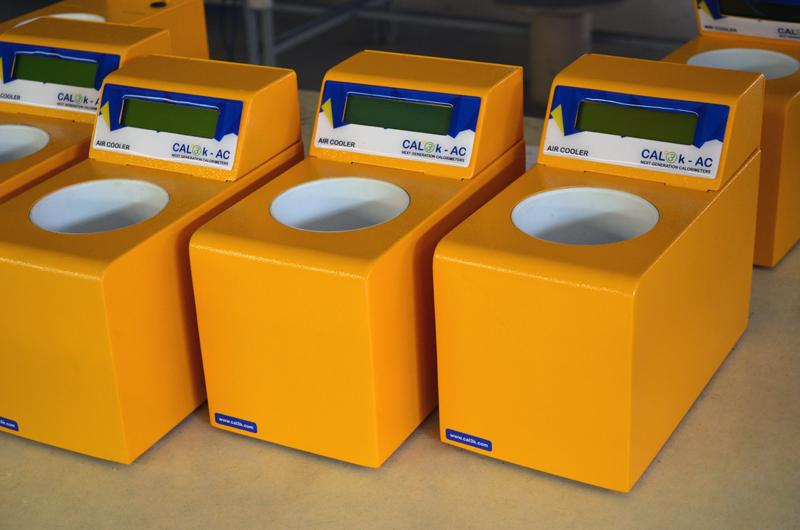 Multiple CAL3K Air Coolers | DDS Calorimeters