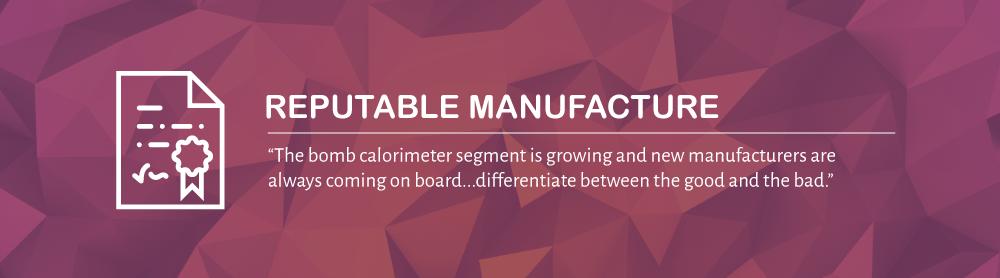 Reputable Manufacture | 10 Quick Calorimeter Tips | DDS Calorimeters