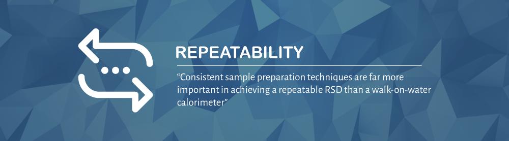 Sample Repeatability | 10 Quick Calorimeter Tips | DDS Calorimeters
