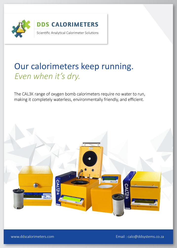 CAL2K & CAL3K Waterless Calorimeters | DDS Calorimeters
